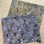 Marmurinis popierius || marbled paper