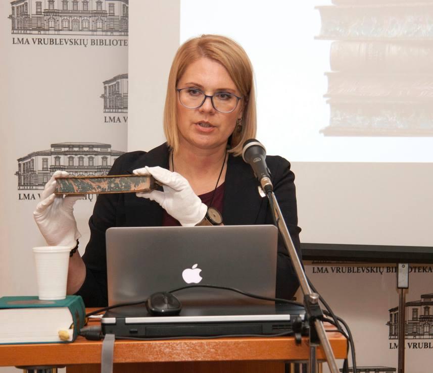 Paskaita LMAVB || Lecture in LMAVB