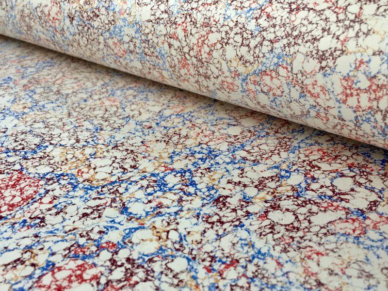 Itališkas marmurinio popieriaus raštas || Italian marbled papers pattern