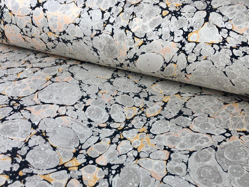 Stormont marmurinio popieriaus raštas    Stormont marbled papers pattern