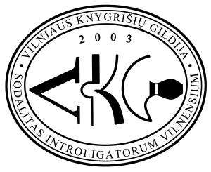 Vilniaus knygrišių gildija logo