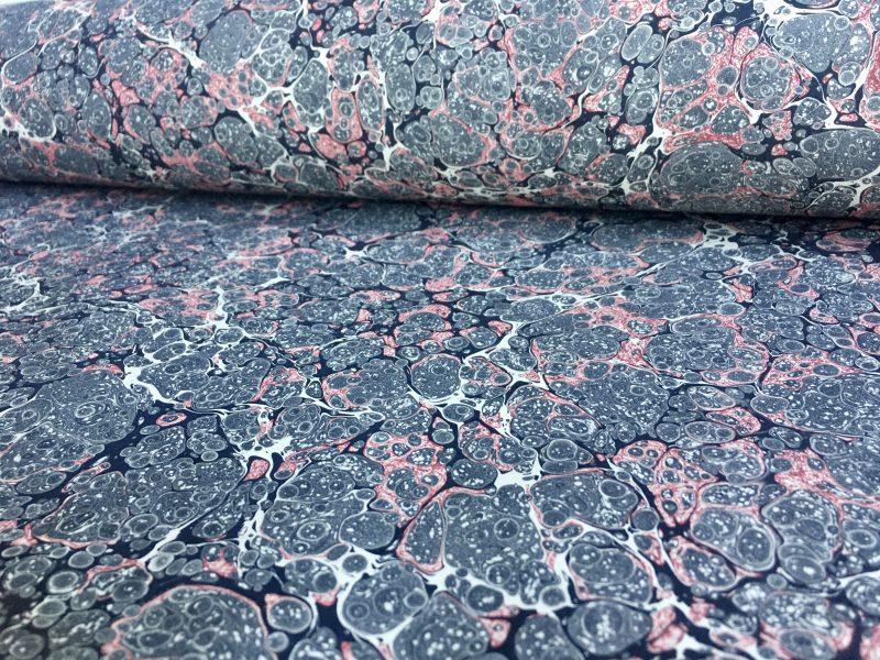 Marmurinis popierius || Stormont || Marbled paper